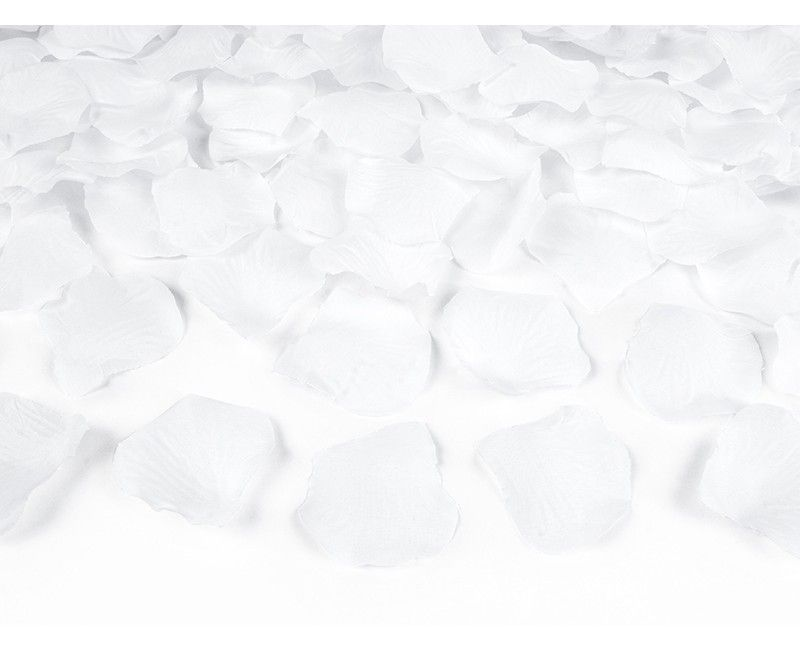 Rozenblaadjes wit, 200 stuks