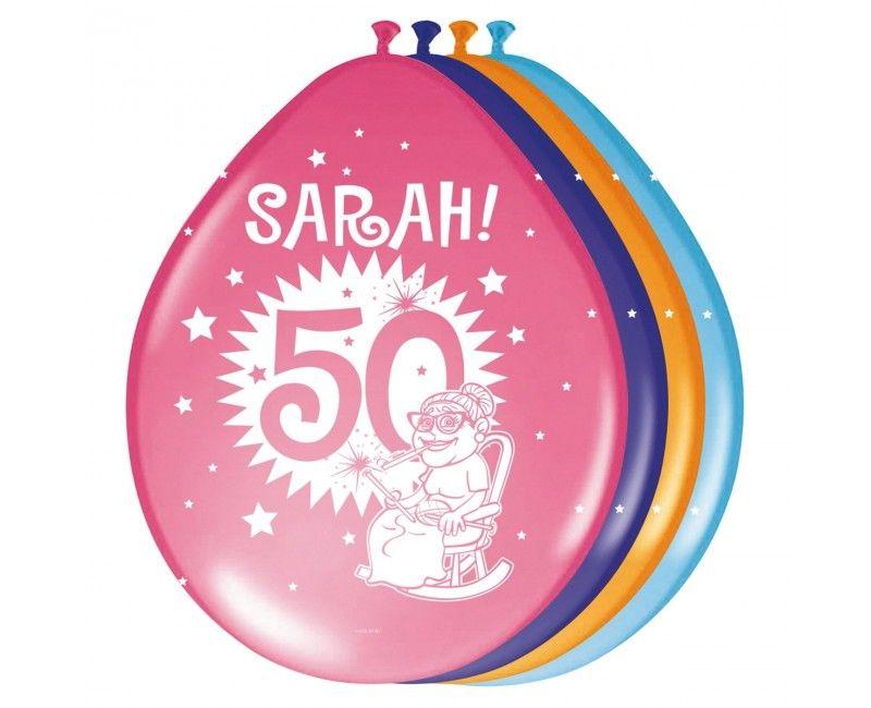 Sarah ballonnen explosion
