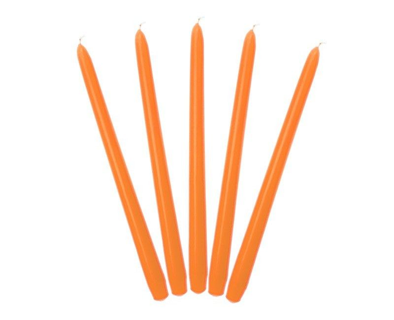 Tafelkaarsen oranje
