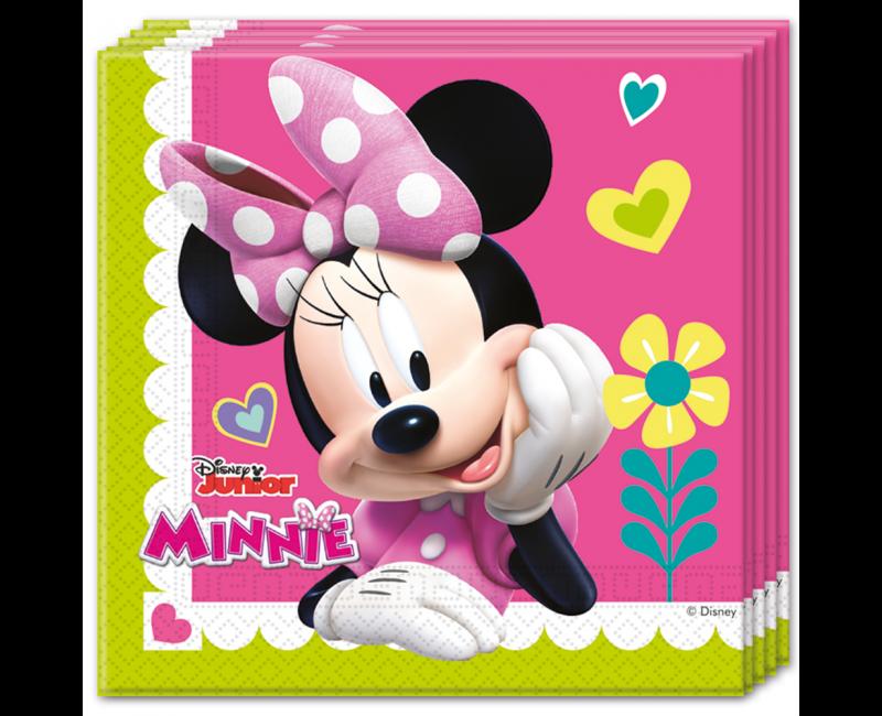 Servetten Minnie 33 x 33cm, 20 stuks