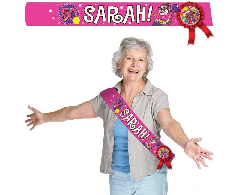 Sjerp Sarah 50 knalfeest