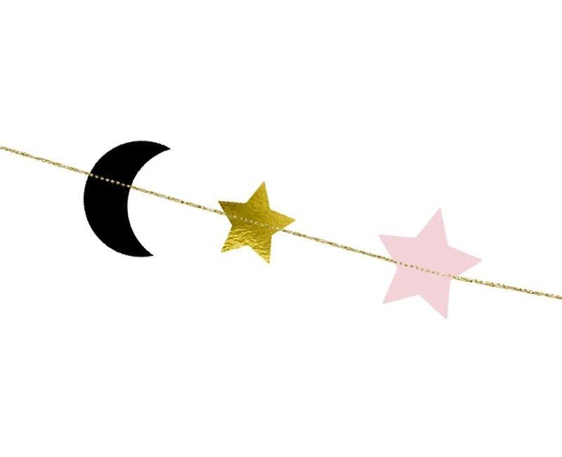Slinger maan en sterren 6.5 x 190cm