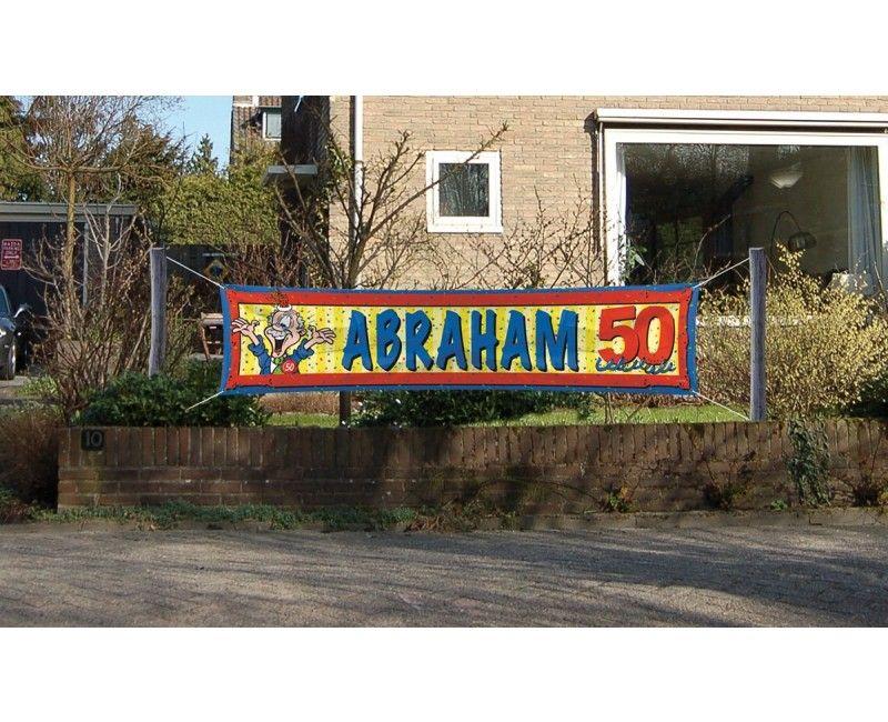 Straatbanier Abraham
