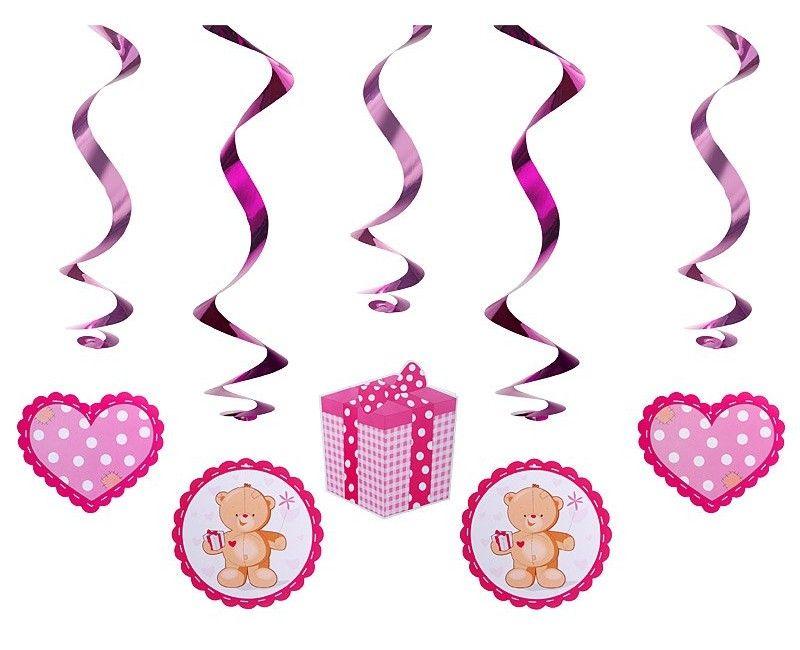 Slinger Teddybeer roze