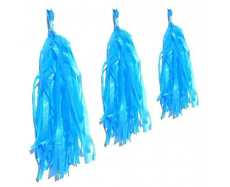 Tassel slinger lichtblauw