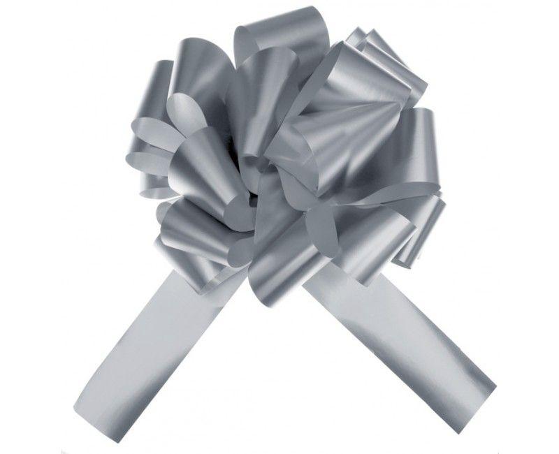 Trekstrik XL zilver metallic, per stuk