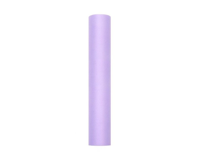 Tule lavendel 30cm breed, rol 9 mtr