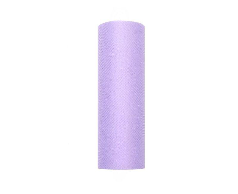 Tule lavendel 15cm breed, rol 9 mtr