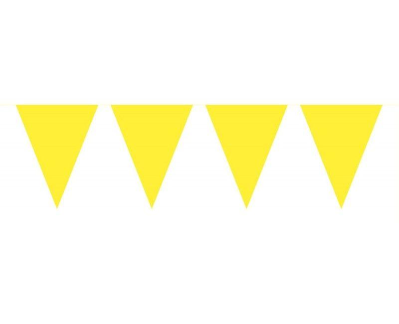 Vlaggenlijn Belgie geel