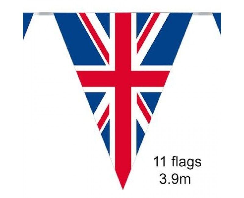 Vlaggenlijn Union Flag Groot Brittanië