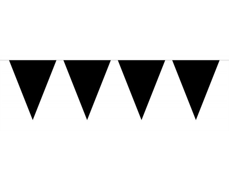 Vlaggenlijn Belgie zwart