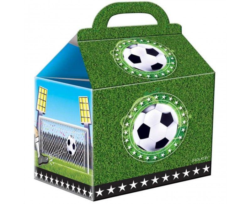 Voetbal uitdeeldoosje, 4 stuks