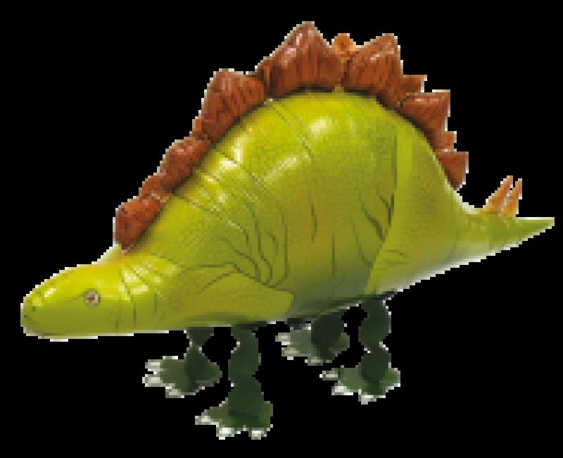 Walking balloon Stegosaurus 85cm
