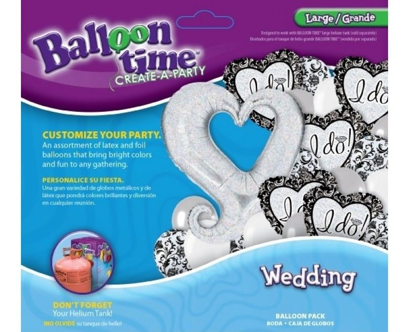 Combi ballonpakket I do wedding large