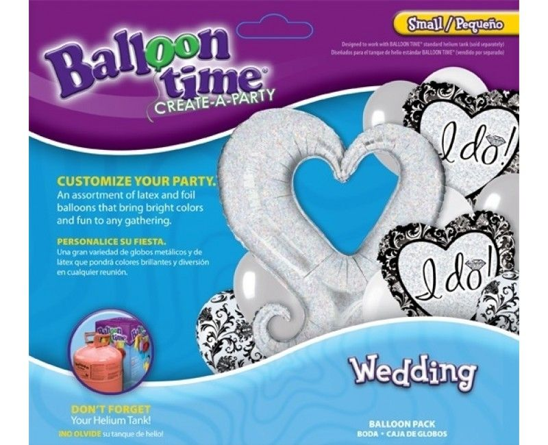 "Ballonnen set ""I do wedding"""