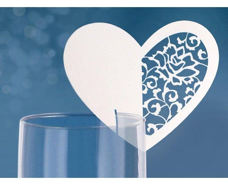 Plaatskaartjes hart voor glas nr. 4