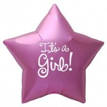 folieballon 45cm It's a girl star