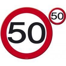 Placemat en onderzetters 50 jaar