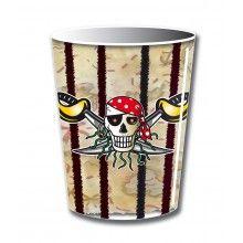 Beker 266ml Rode Piraat, 8 stuks