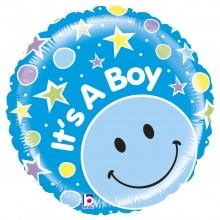 Folieballon It's a Boy mighty bright