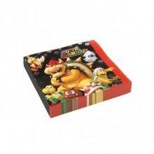 Servetten Super Mario 33 x 33cm, 20 stuks