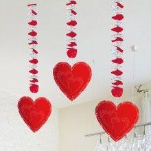 Hangdecoratie Harten