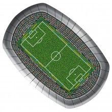 Borden Voetbalstadion 18 x 27cm, 8 stuks