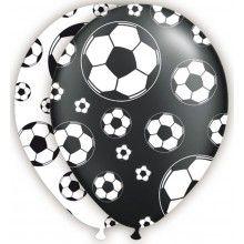 Ballonnen Voetbal, 6 stuks