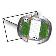 Uitnodigingen Voetbal
