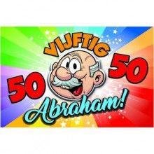 3D bord Abraham regenboog 58 x 38cm