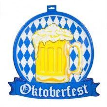 3D bord Oktoberfest Bierpul, 42 x 46 cm