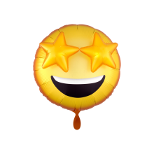 3D folieballon XL emoticon 71cm