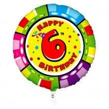 Folieballon 53cm animaloon Happy Birthday 6