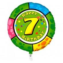 Folieballon 53cm animaloon Happy Birthday 7