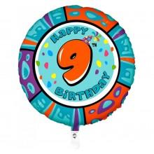 Folieballon 53cm animaloon Happy Birthday 9