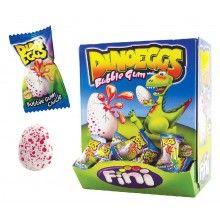 Verpakt snoep Dino ei, 10 stuks