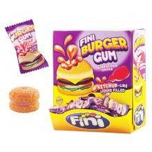 Verpakt snoep Hamburger gum, 10 stuks