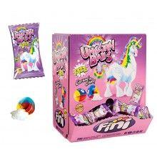 Verpakt snoep unicorn balls, 10 stuks