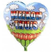 Folieballon XXL Welkom Thuis