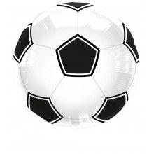 Folieballon Voetbal