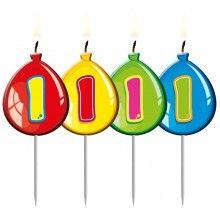 Verjaardags kaarsje ballon 1