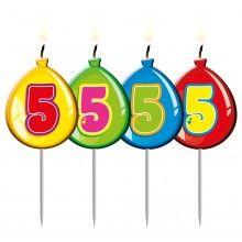 Verjaardags kaarsje ballon 5