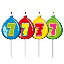 Verjaardags kaarsje ballon 7