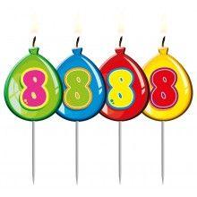 Verjaardags kaarsje ballon 8