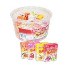 Verpakt snoep fruittella doosjes, 10 stuks