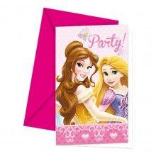 Uitnodigingen Princess