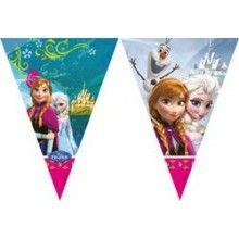 Vlaggenlijn Frozen 2 meter