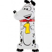 Folieballon cijfers 100cm Animaloon 1 hond