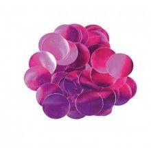 Ballon confetti roze 10mm, zakje 15 gram