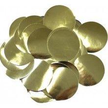 Ballon confetti Gold 30mm, zakje 15 gram